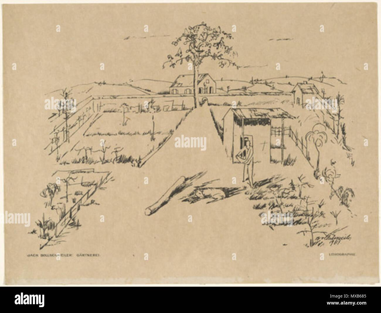 Englisch: Kinderzimmer (Gärtnerei) (Platte, vor S. 353) aus der ...