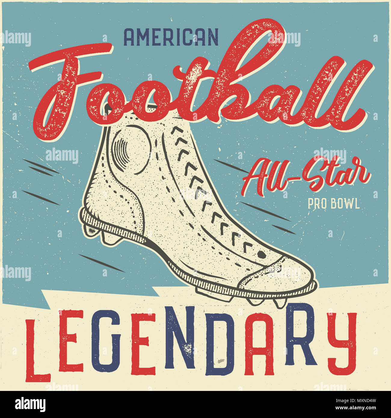 Classic Usa Fussball T Shirt Design American Football T