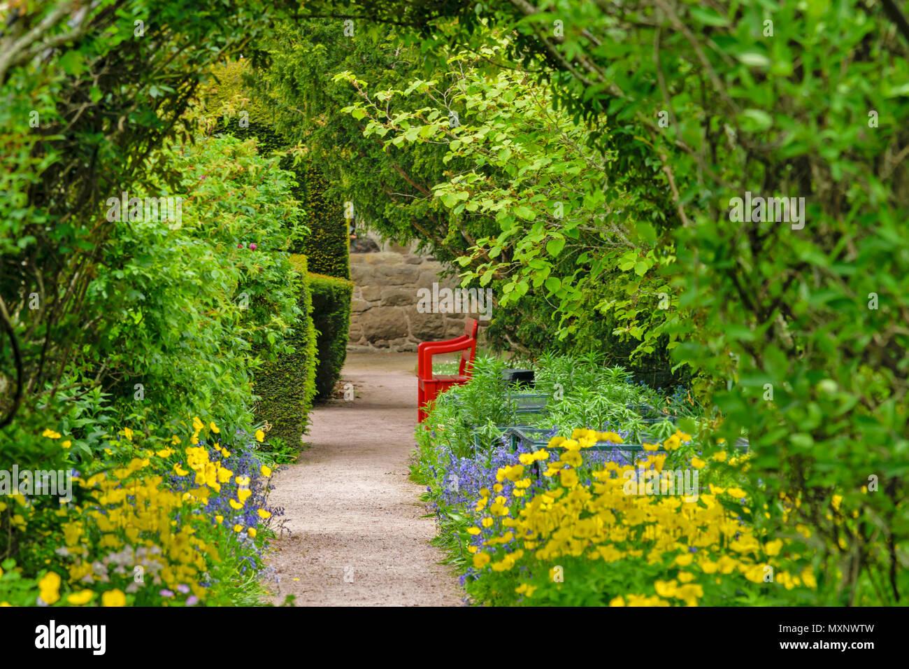Garten Torbogen Stockfotos Garten Torbogen Bilder Alamy