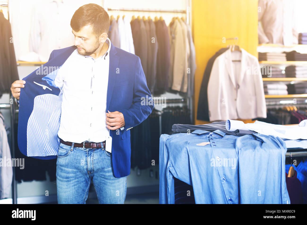 low cost e1caf 530aa Normalen männlichen Kunden Auswahl Jacke in Männer kleidung ...