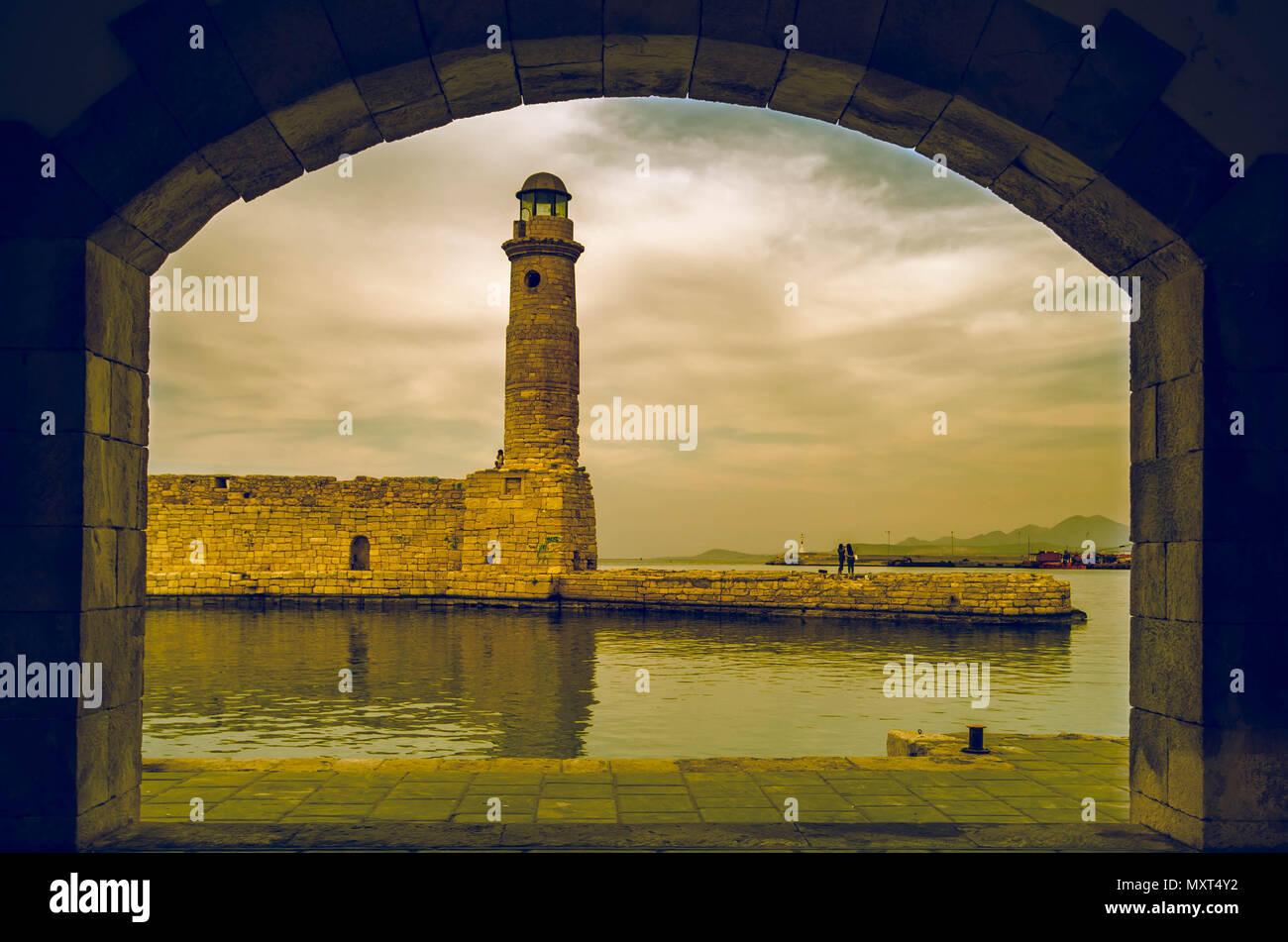 Rethymno Port Stockfotos & Rethymno Port Bilder - Alamy