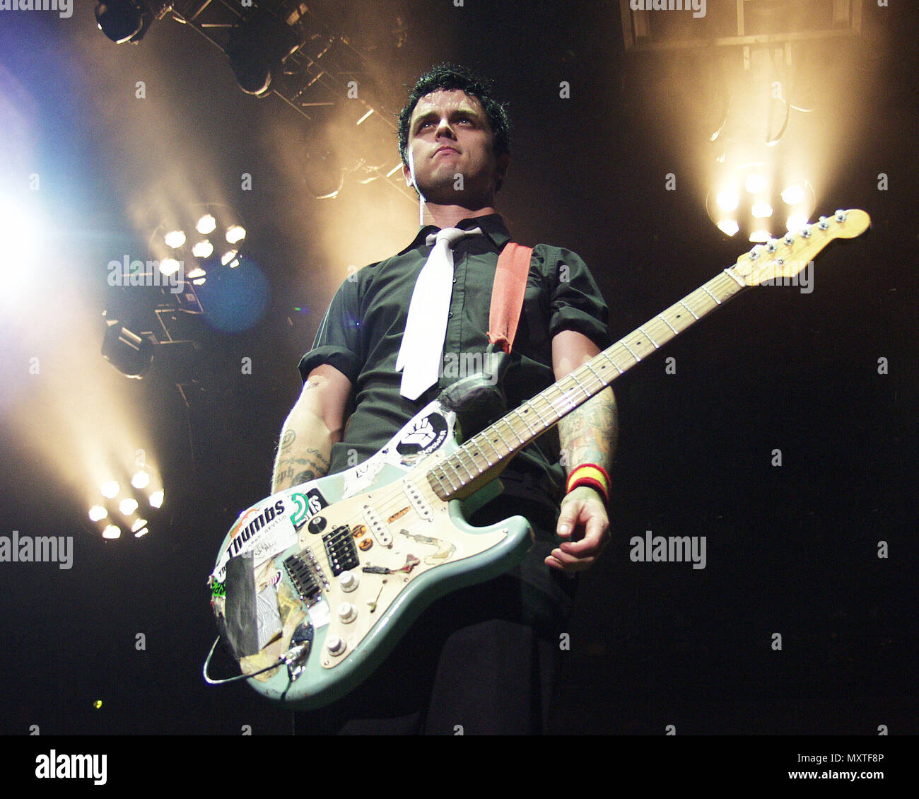 Atlanta Ga Mai 18 Billie Joe Armstrong Von Green Day Führt Bei