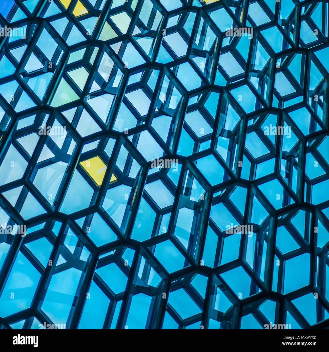 Metal Industrial Construction Transparent Glass Stockfotos & Metal ...