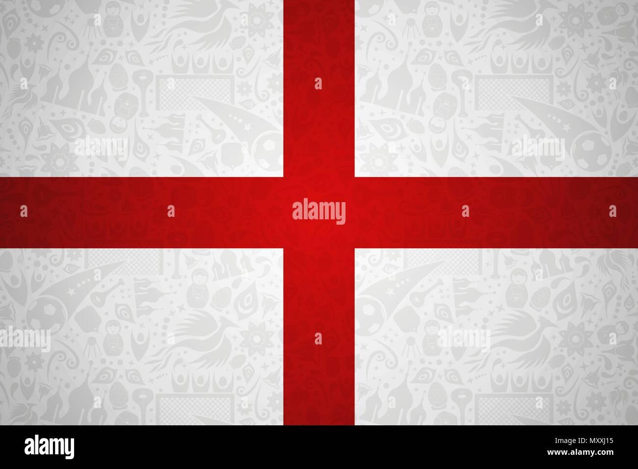 England Flagge Hintergrund Fur Besondere Fussball Sport