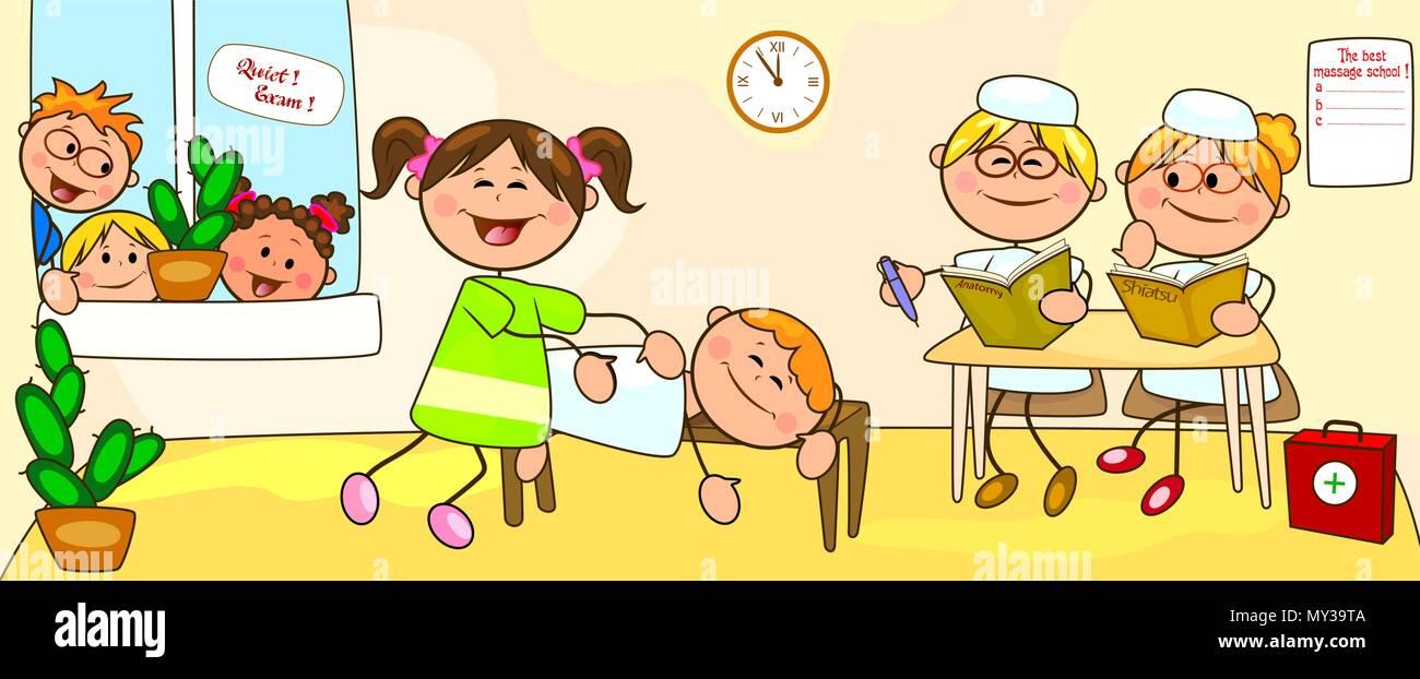 Zärtliche Massage Unter Girls
