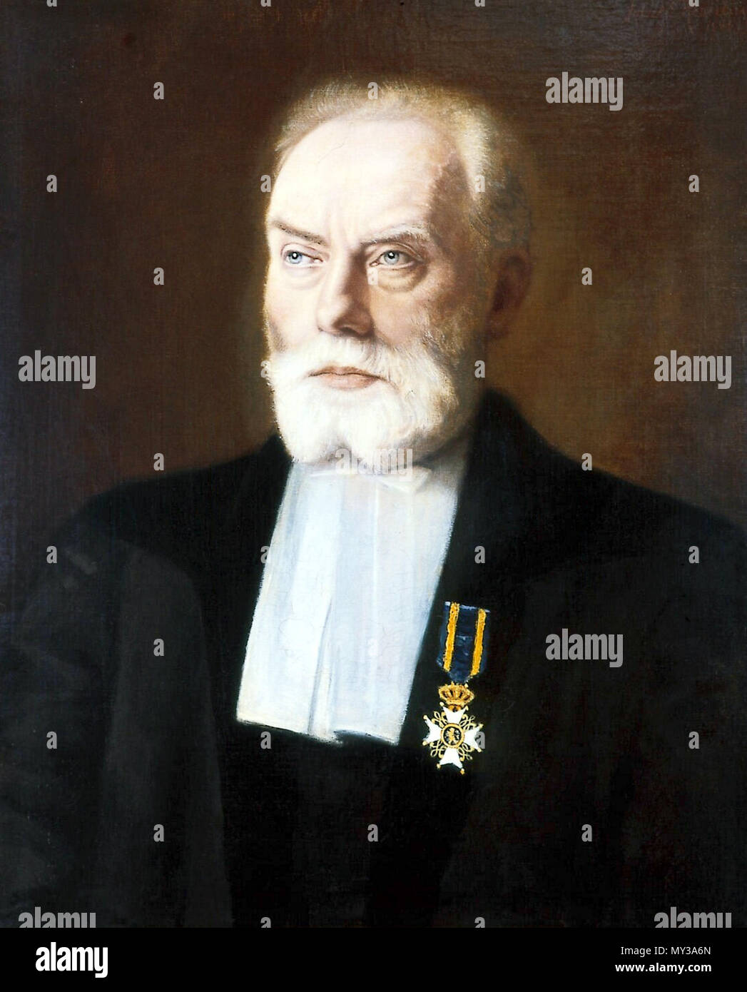 . English: Hendrik Wefers Bettink (1839-1921) niederländischer Viol ensemble. 1901. Jules Henri Eugène Roberti 559 Wefers-Bettink Hendrik Stockfoto