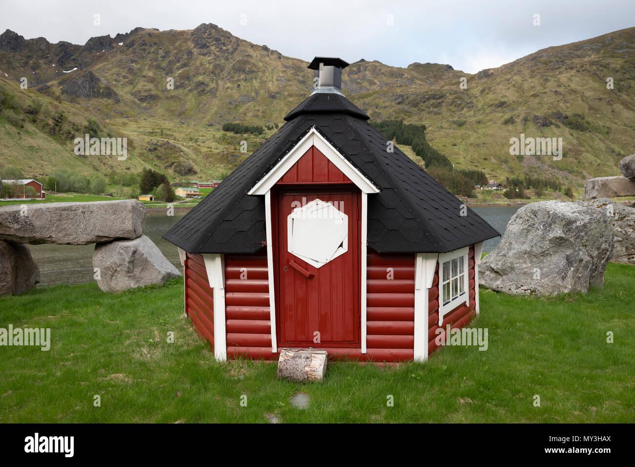 Sauna Im Freien sauna im freien in norwegen stockfoto, bild: 188778882 - alamy