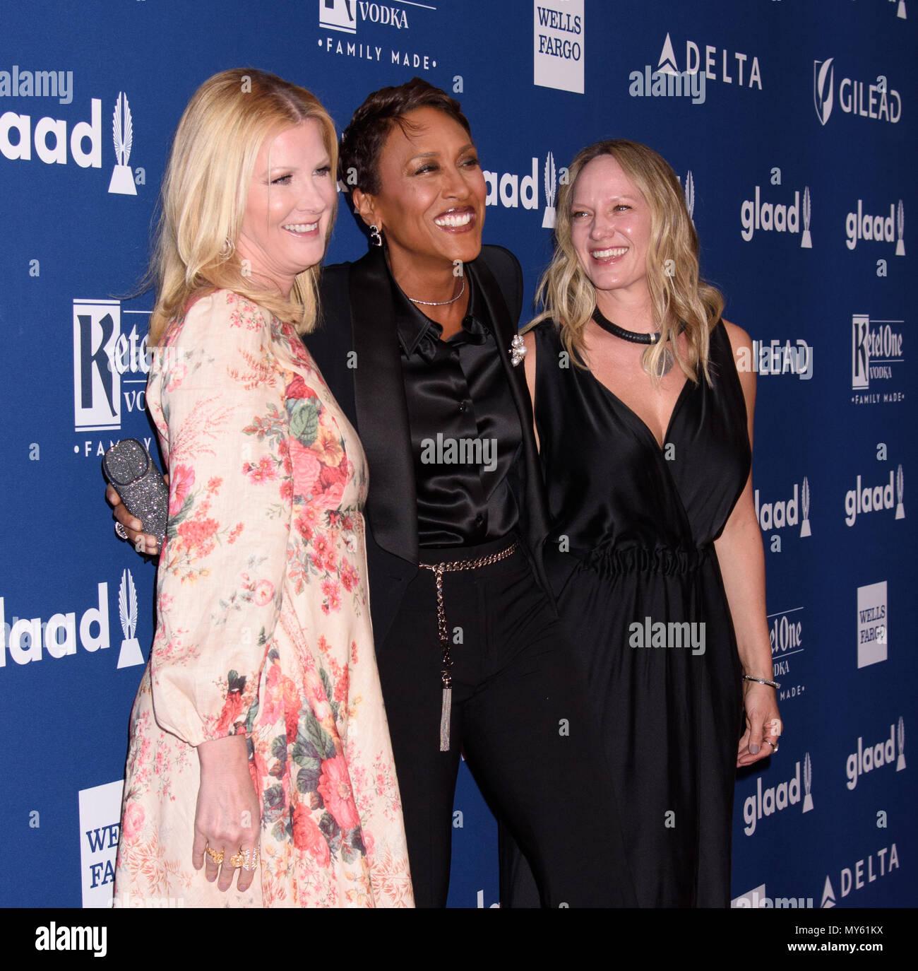 29 Jahrliche Glaad Media Awards Mit Sandra Lee Robin Roberts Amber Laign Wo New York New York United States Wenn 06 Mai 2018 Credit Wenn Com Stockfotografie Alamy