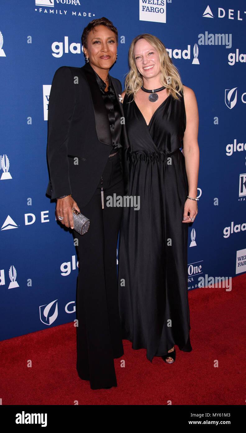 29 Jahrliche Glaad Media Awards Mit Robin Roberts Amber Laign Wo New York New York United States Wenn 06 Mai 2018 Credit Wenn Com Stockfotografie Alamy