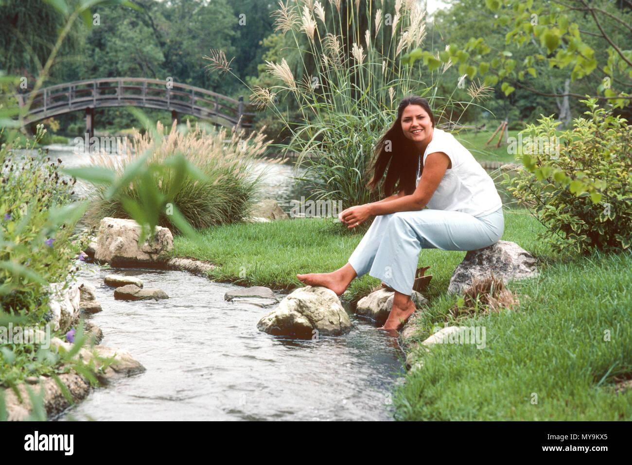 St Louis Botanical Gardens Stockfotos St Louis Botanical Gardens