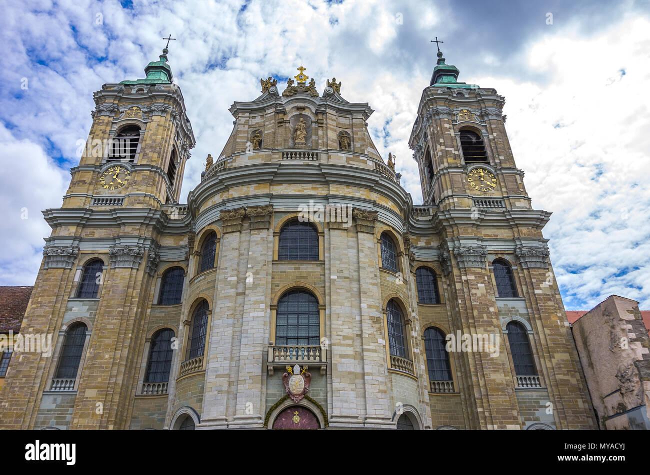 Basilika St. Martin, Weingarten, Baden-Württemberg, Deutschland. Stockbild