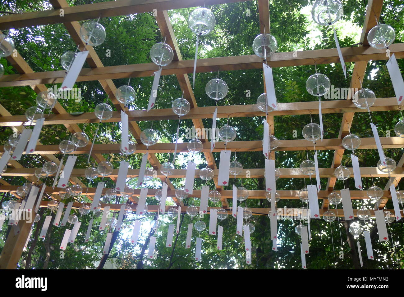 Windspiel Garten In Kawagoe Japan Stockfoto Bild 189044942 Alamy