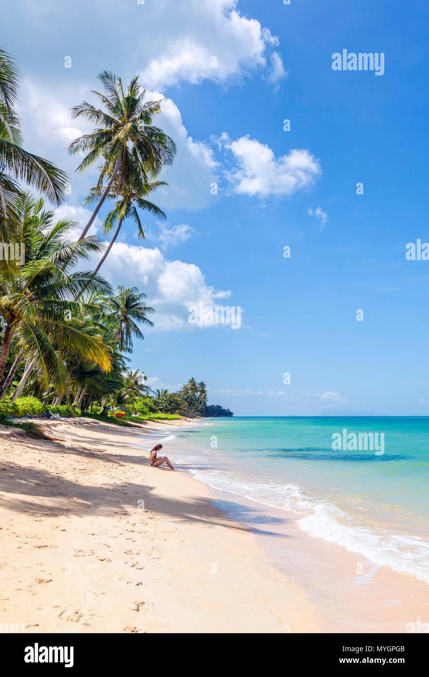 Paradies Insel Koh Samui Stockbild
