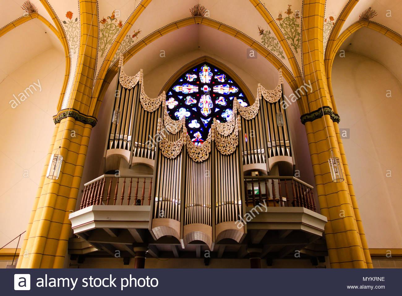 Villa Jesuitenkirche in Trier, Deutschland. Jesuitenkirche Trier. Stockbild
