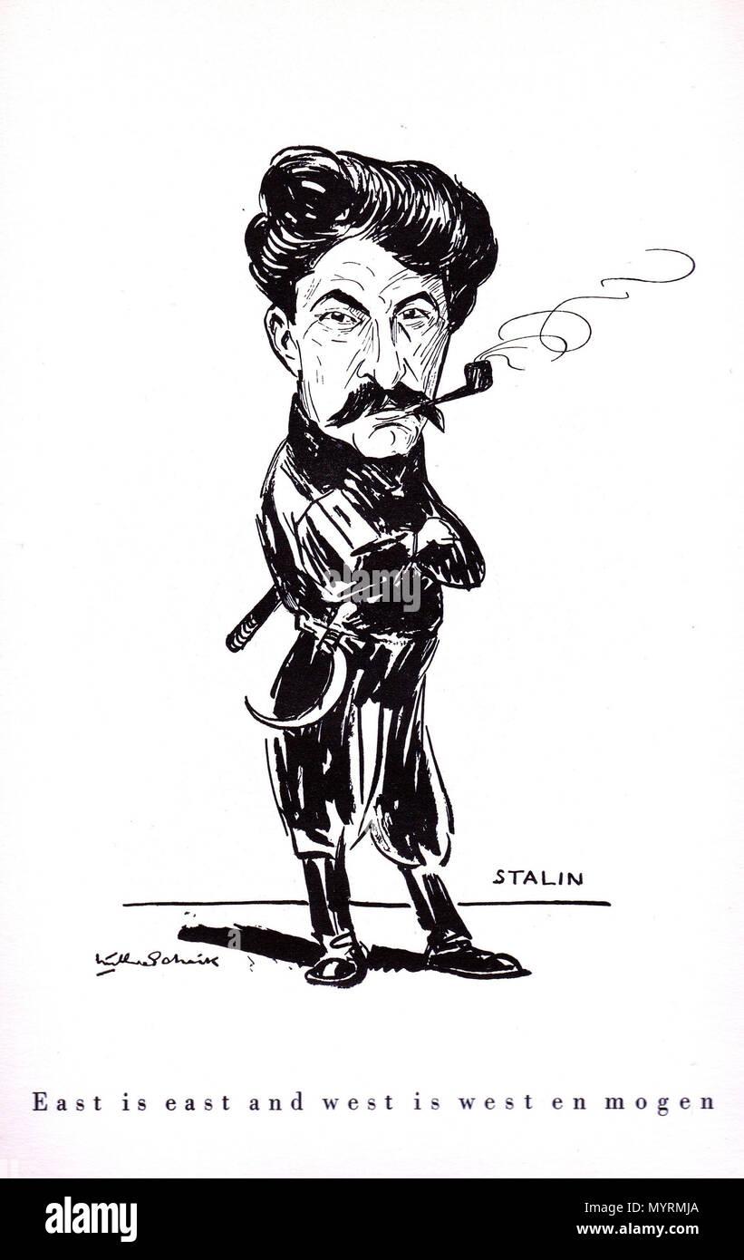 Karikatur hitler stalin pakt Baltikum