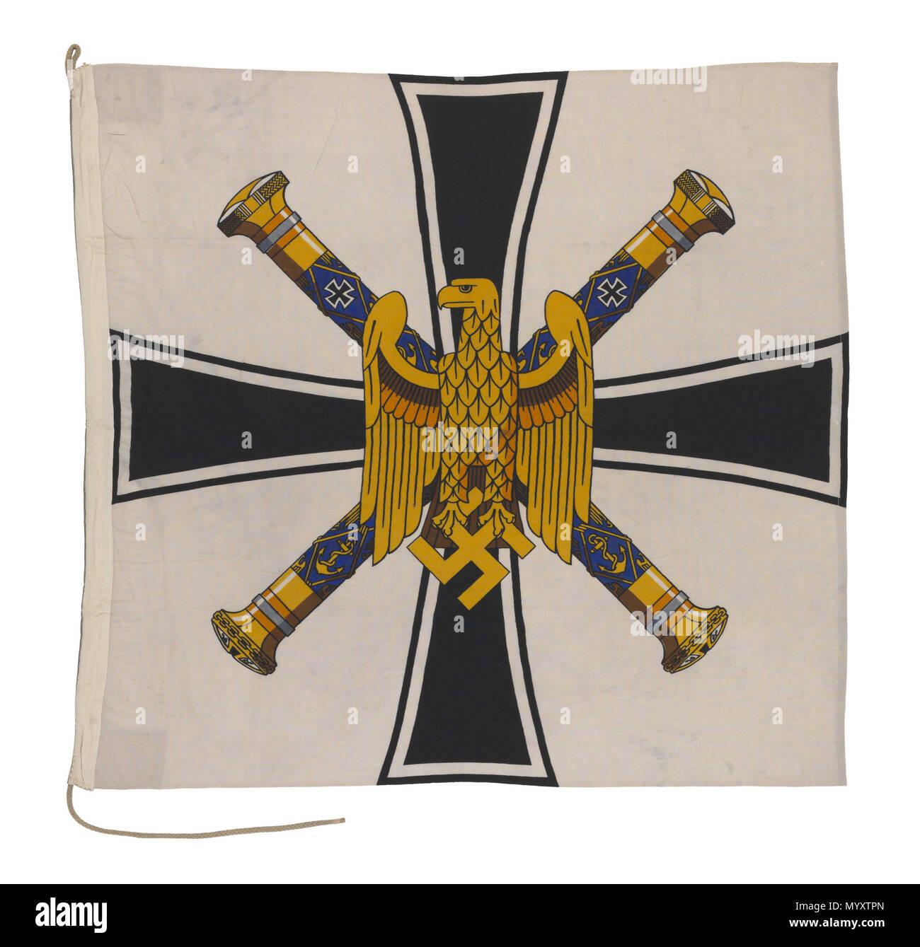 Nazi Flag Black And White Stockfotos Nazi Flag Black And White