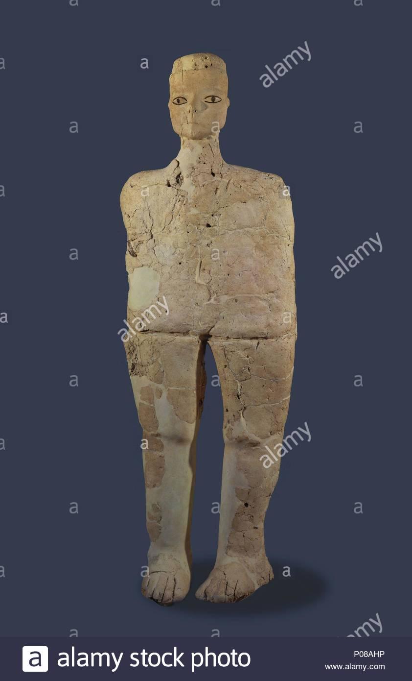 dies sind die ältesten bekannten menschlichen statuen aus kalk