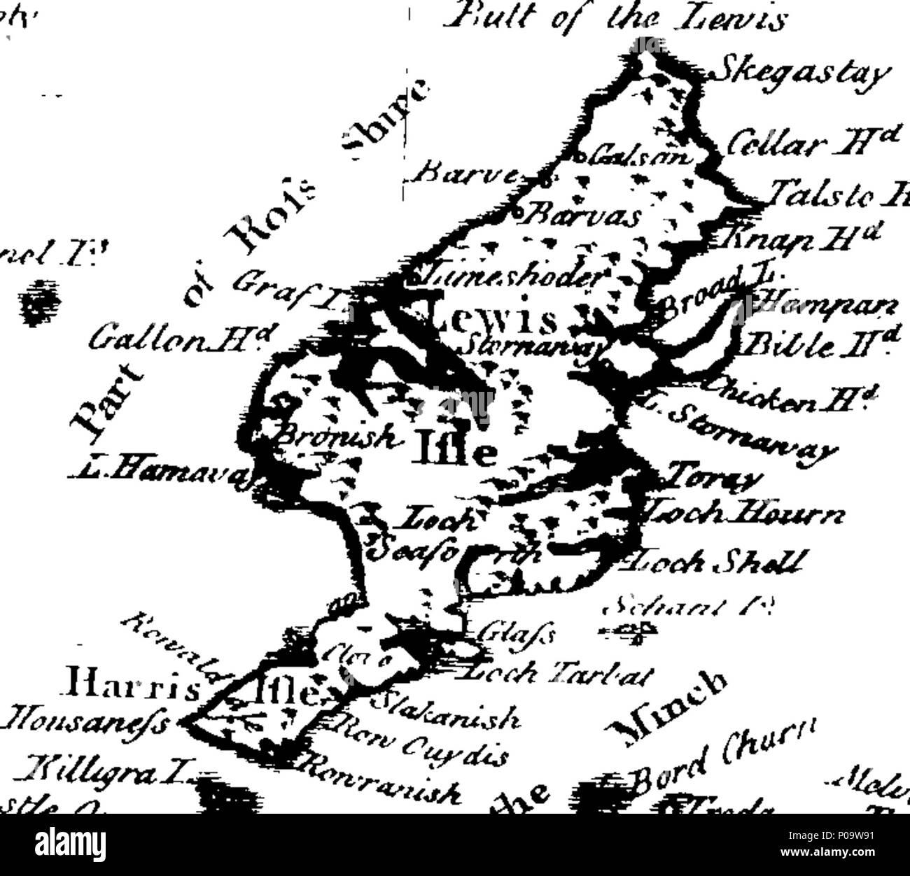 Englisch Fleuron Aus Buch Einen Neuen Geographischen Historischen