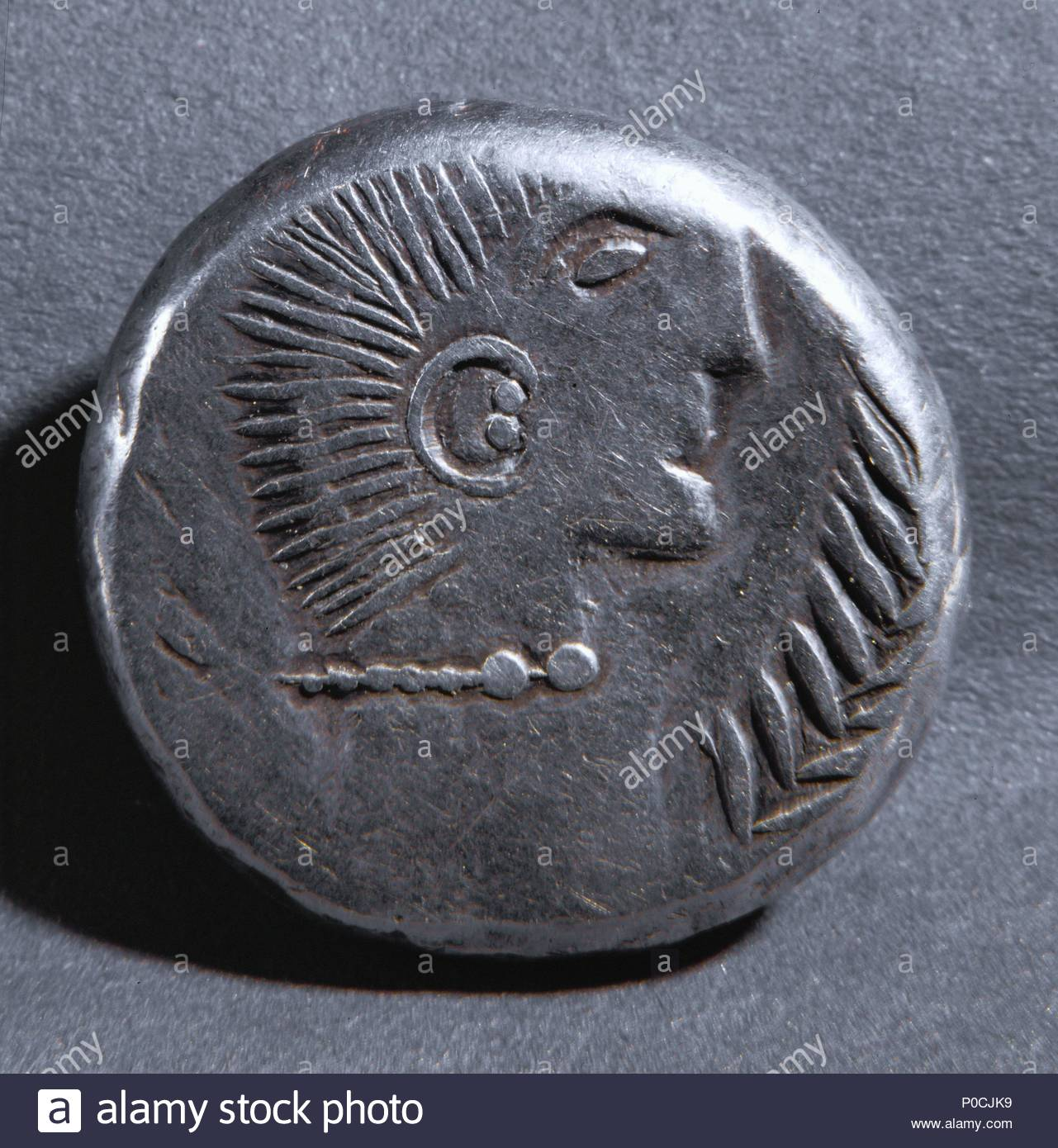 Angesichts Einer Boic Silber Münze Aus Pannonien Namenlosen