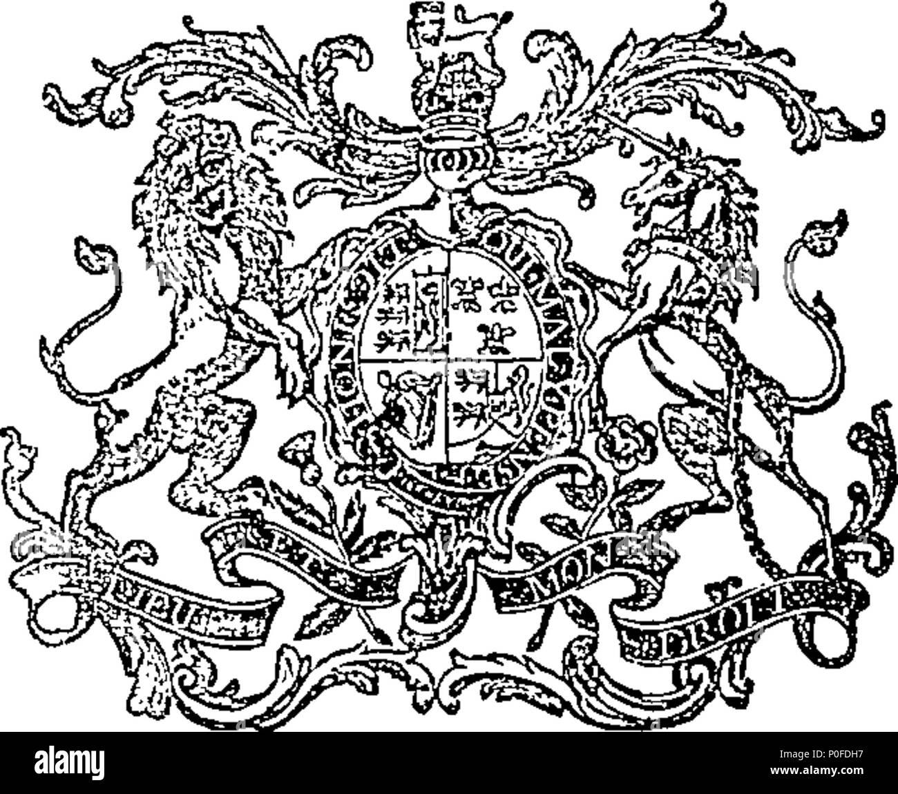 . Englisch: Fleuron aus Buch: Gesetze und Satzungen, in einer Sitzung des Parlaments in Dublin, die am 21. Januar begonnen, Anno Domini 1794, in das vierunddreissigste Jahr der Herrschaft unseres gnädigen Herrn, Herrn König Georg der Dritte: Vor seiner Exzellenz John Fane, Earl von Westmorland, Herr Generalleutnant und Gouverneur von Irland. Die 5. Tagung der fünften Parlament, in der Regierungszeit von Seiner Majestät. 260 Gesetze und Satzungen Fleuron T 127038-36 Stockfoto