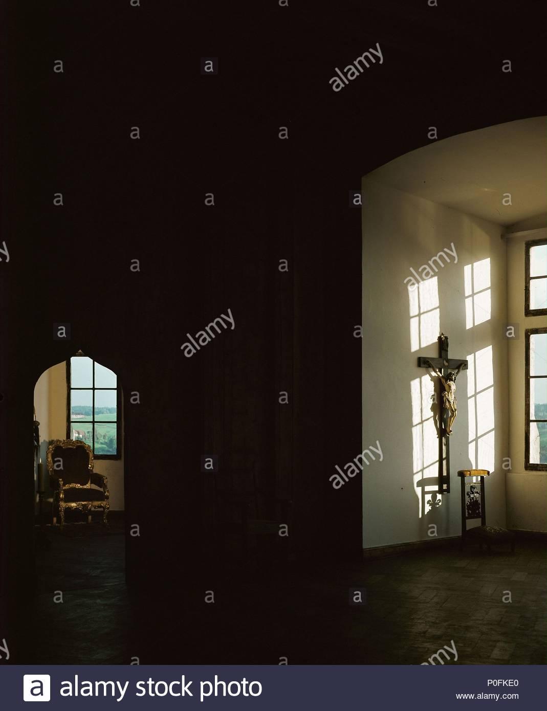 Innenraum Passau Schloss Mit 17 C Möbel Ort Schloss Passau