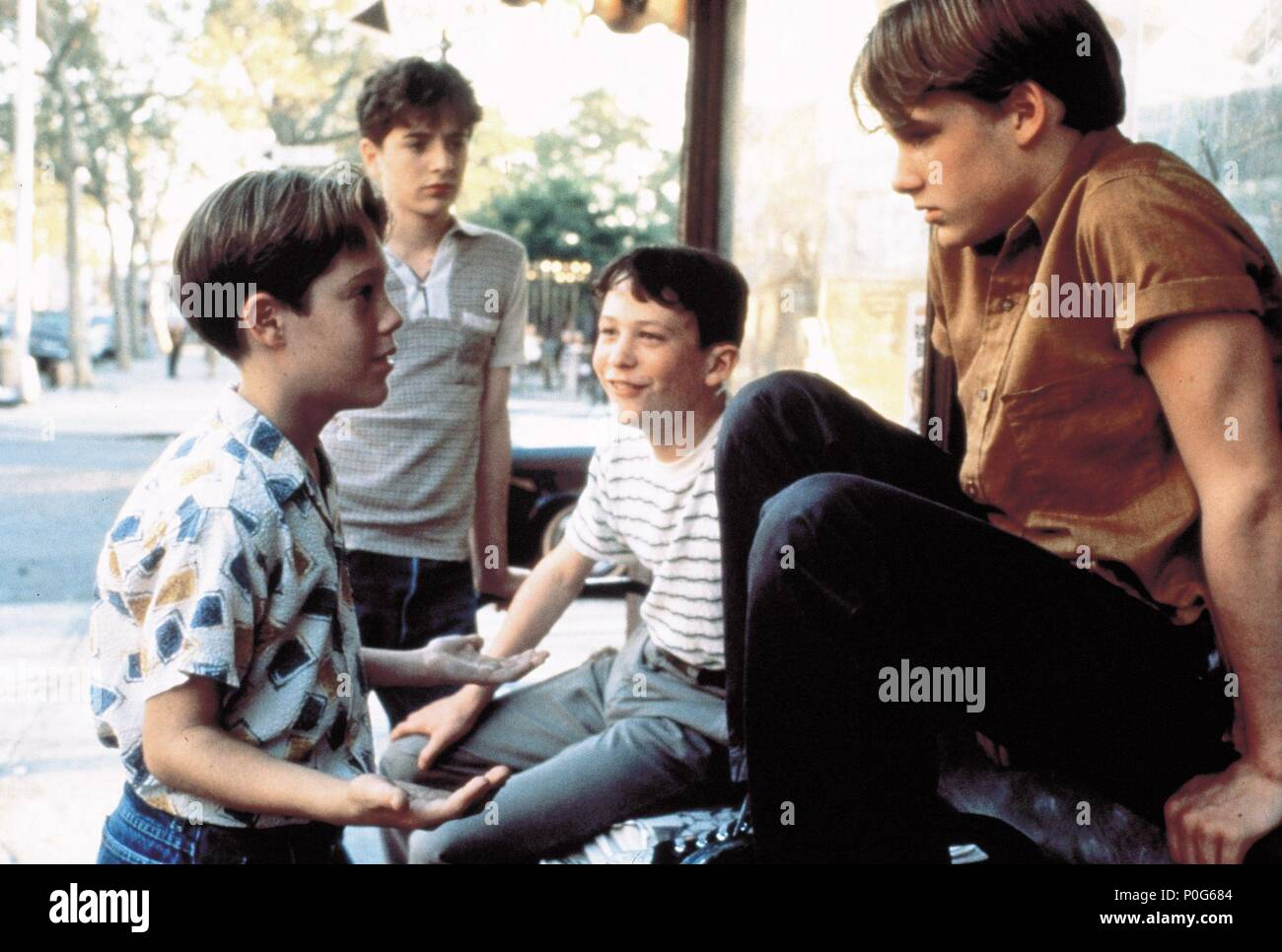 Original Film Titel Schwellen Englischer Titel Schwellen Regisseur Barry Levinson Jahr 1996 Stars Brad Renfro Jonathan Tucker Joe Perrino Geoffrey Wigdor Credit Propaganda Films Baltimore Bilder Album Stockfotografie Alamy