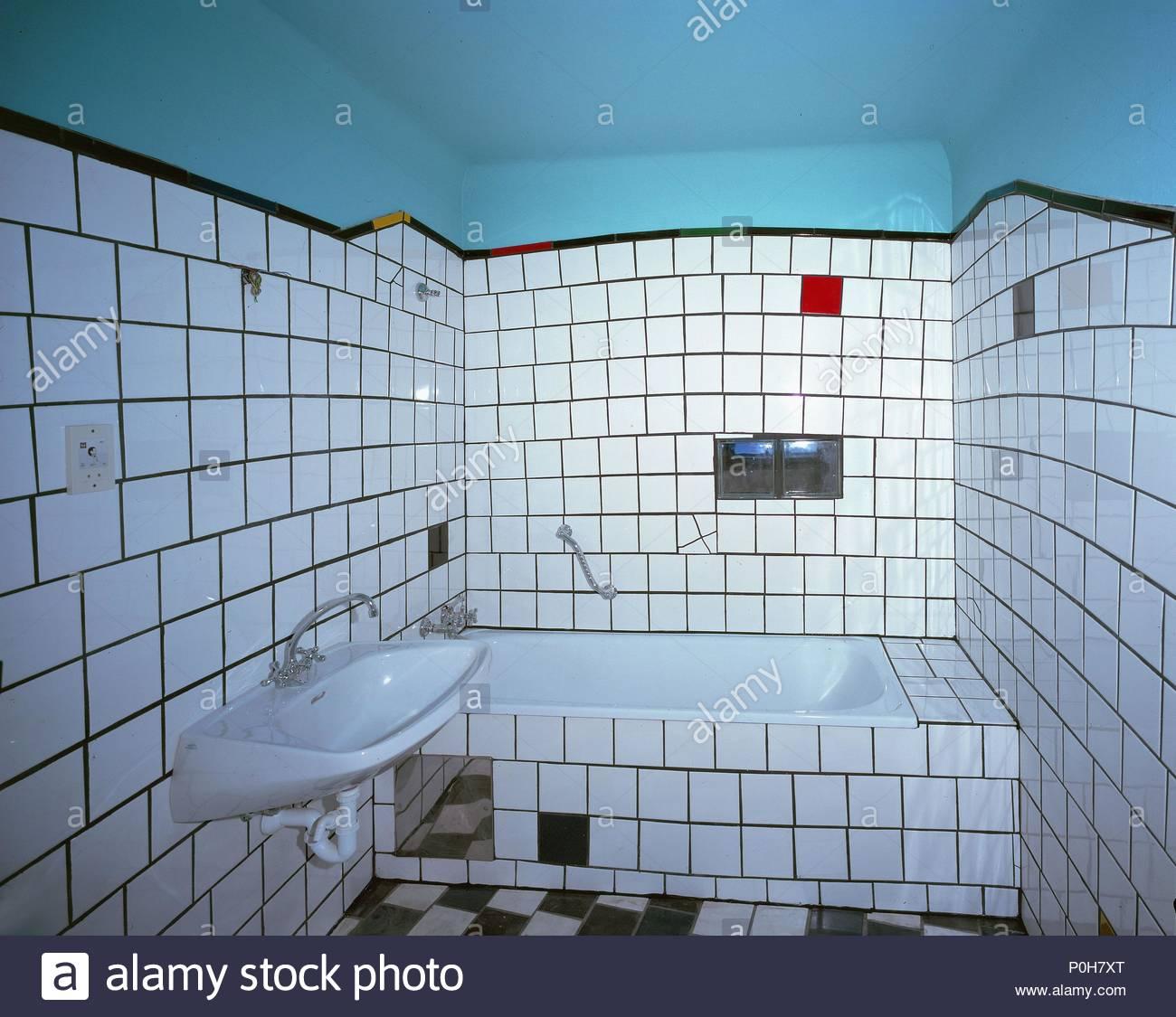 Badezimmer in einem der Apartments im \