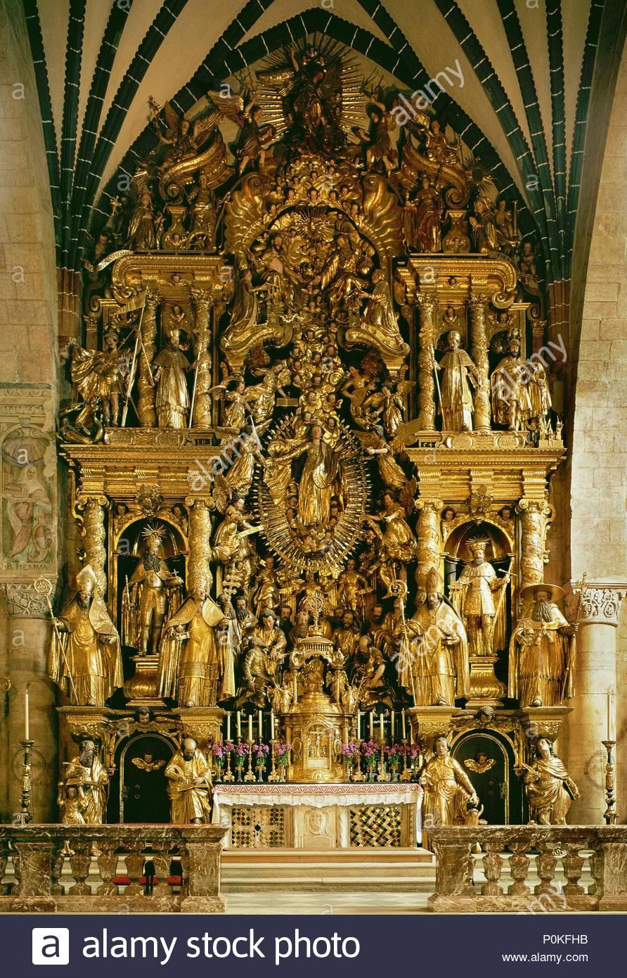 Altar Der Kathedrale Von Gurk Kärnten österreich 1626 1636