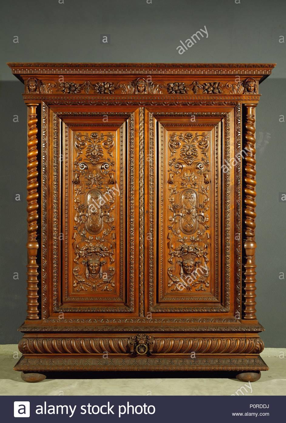 Schrank für ein Schlafzimmer. Wien, um 1890 Inv. H1672 von \