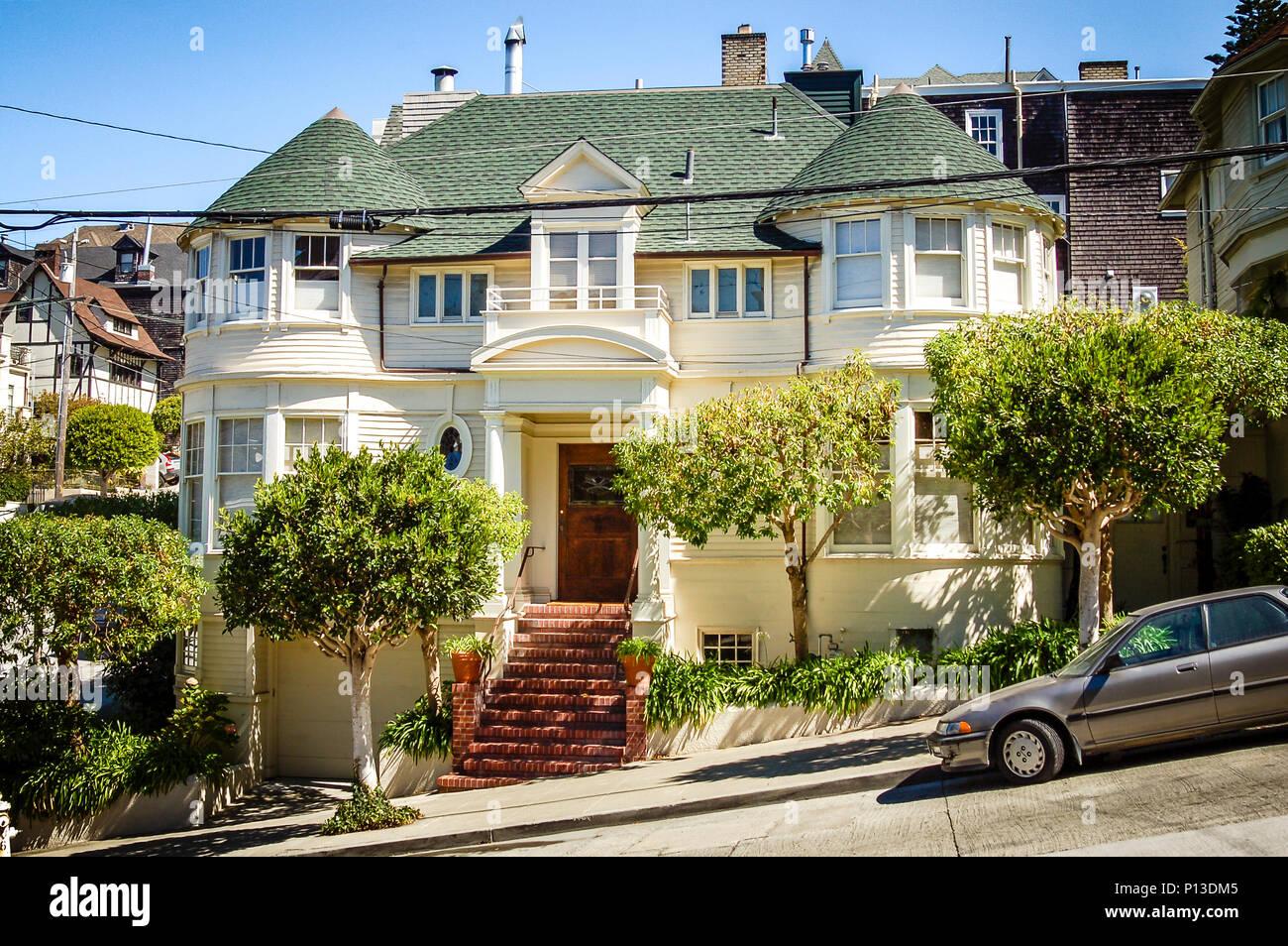 Luxuriöses Haus Auf Steiner Straße Im Pacific Heights Viertel Von