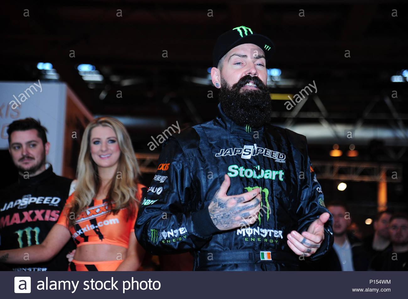Shane Lynch. *** Obligatorisch BYLINE AUF NUR LESEN INFPhoto.com ***<BR />Eine allgemeine Ansicht während der Autosport International Auto Show in Birmingham, England. Stockbild
