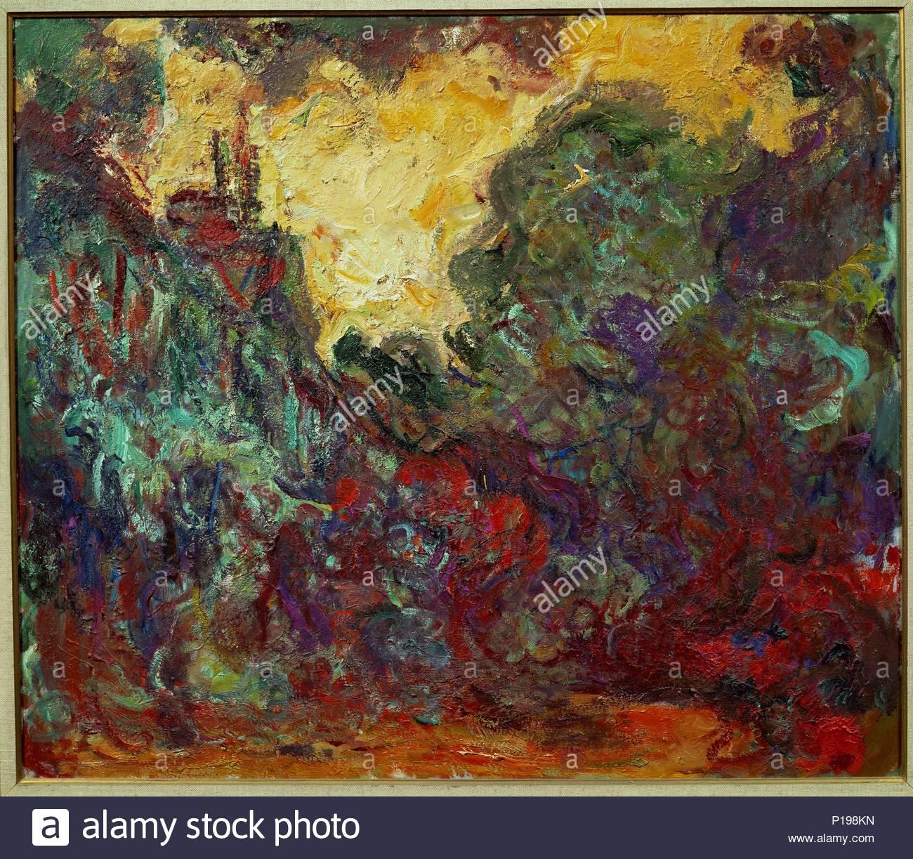 La maison Vu du Jardin aux Roses, 1922-1924 Leinwand, 81 x 93 cm Inv ...