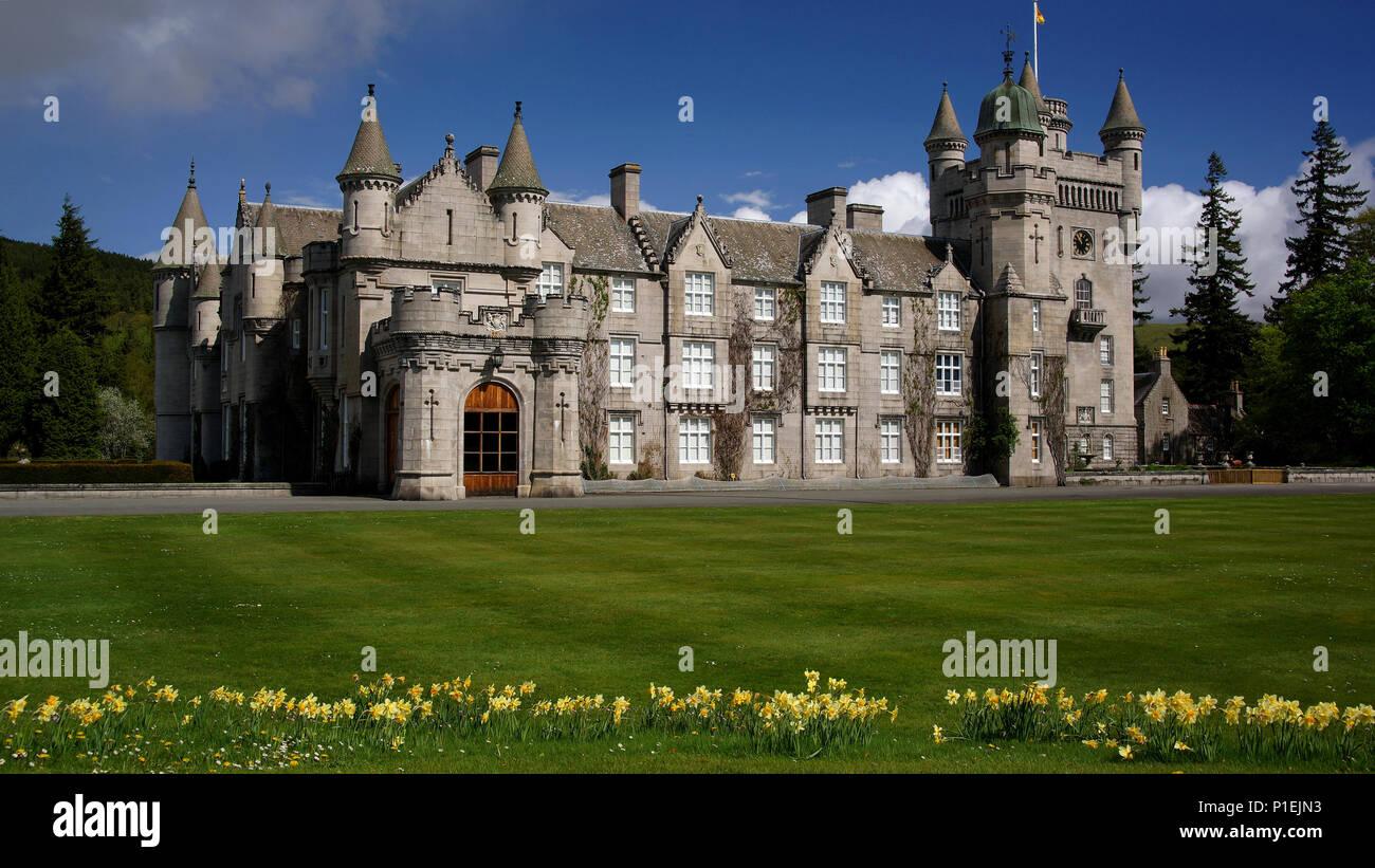 Balmoral Castle Schottland Schloss Balmoral Schottland