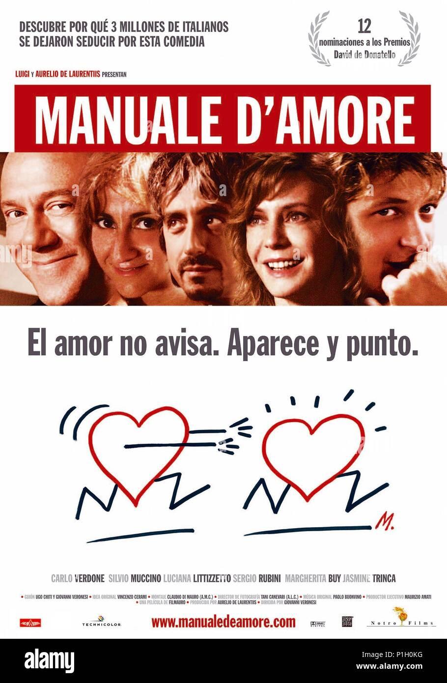 Original Film Titel Manuale D Amore Englischer Titel Manuale D
