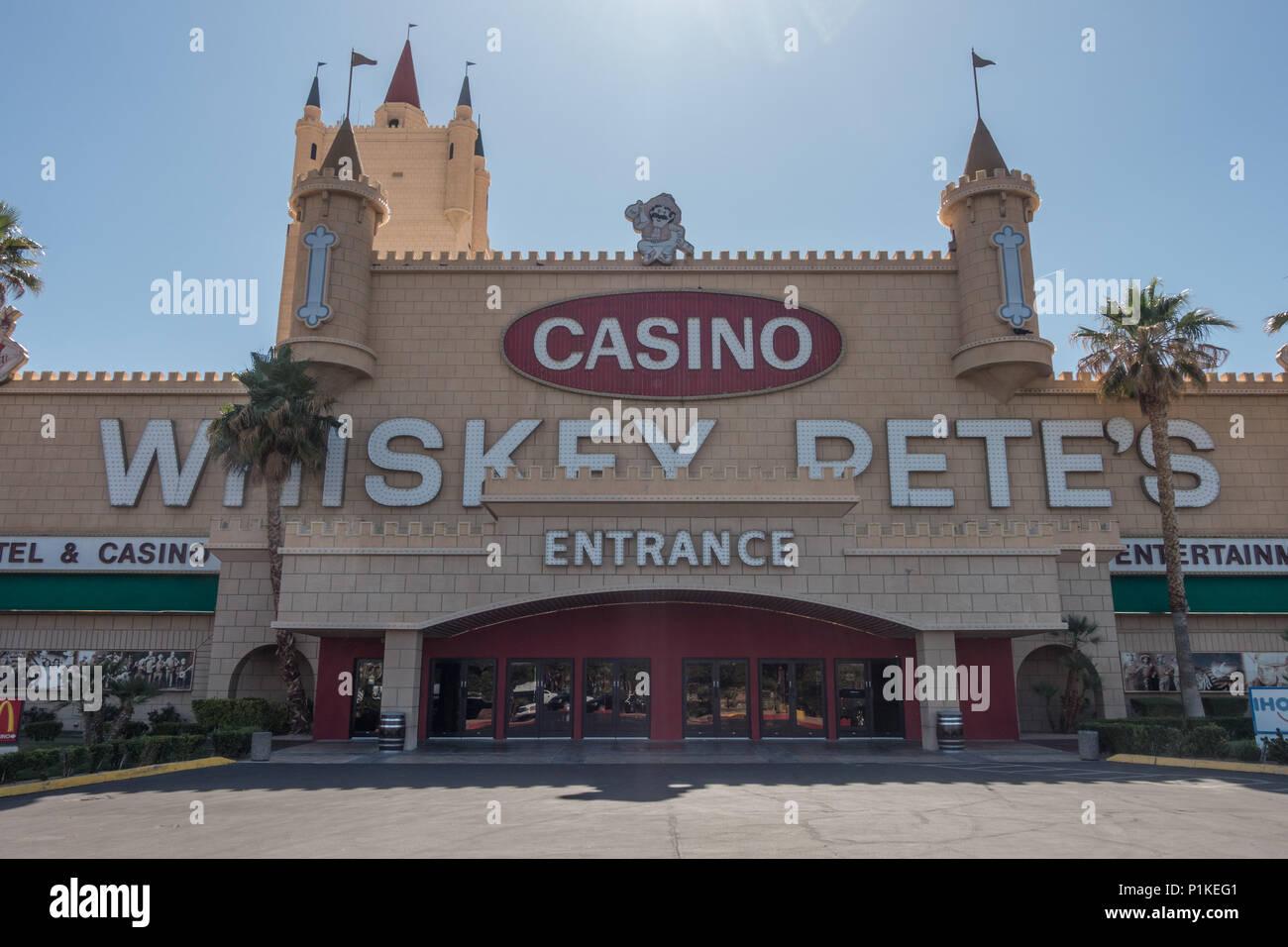 Whiskey Pete Casino in Primm, Nevada, USA Stockbild