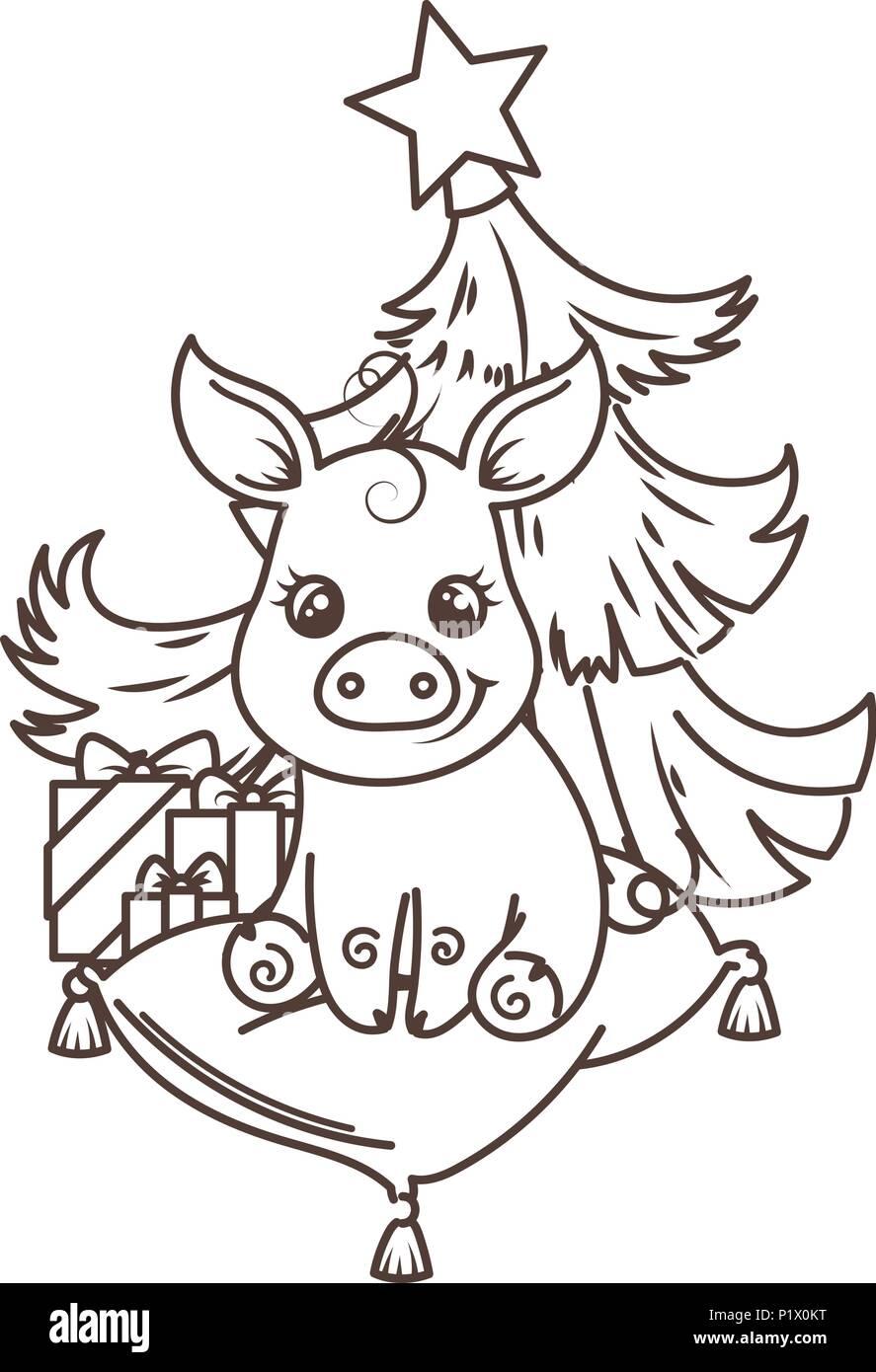 Charmant Grund Schwein Färbung Seite Bilder - Druckbare Malvorlagen ...