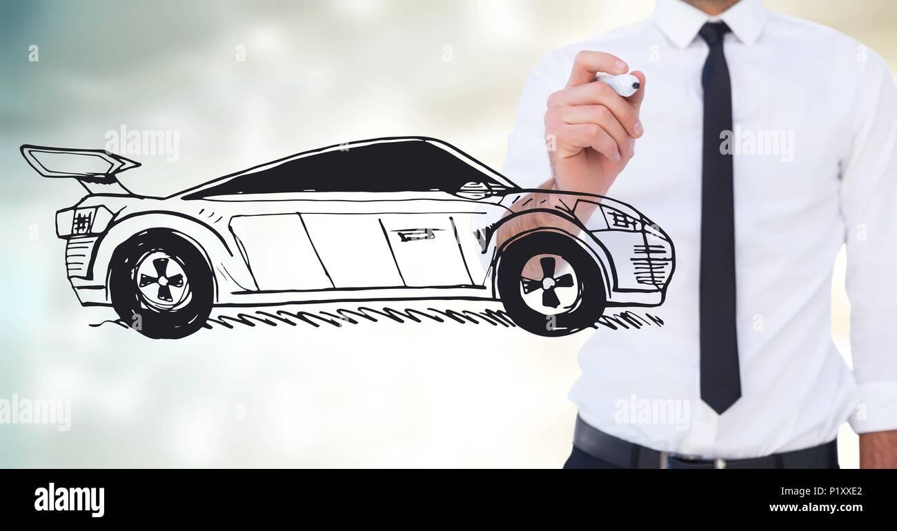 Fein Wie Man Auto Skizziert Zeitgenössisch - Die Besten Elektrischen ...