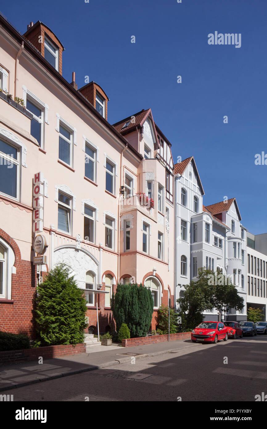 Hotel Reverey, Hannover, Niedersachsen, Deutschland, Europa ich Hotel Reverey, Hannover, Niedersachsen, Deutschland, Europa Stockfoto