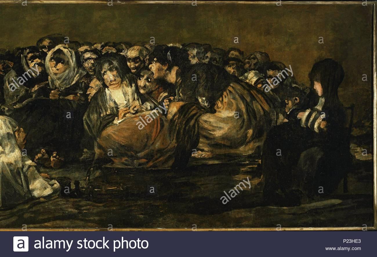 Goya Black Paintings Stockfotos & Goya Black Paintings Bilder - Alamy