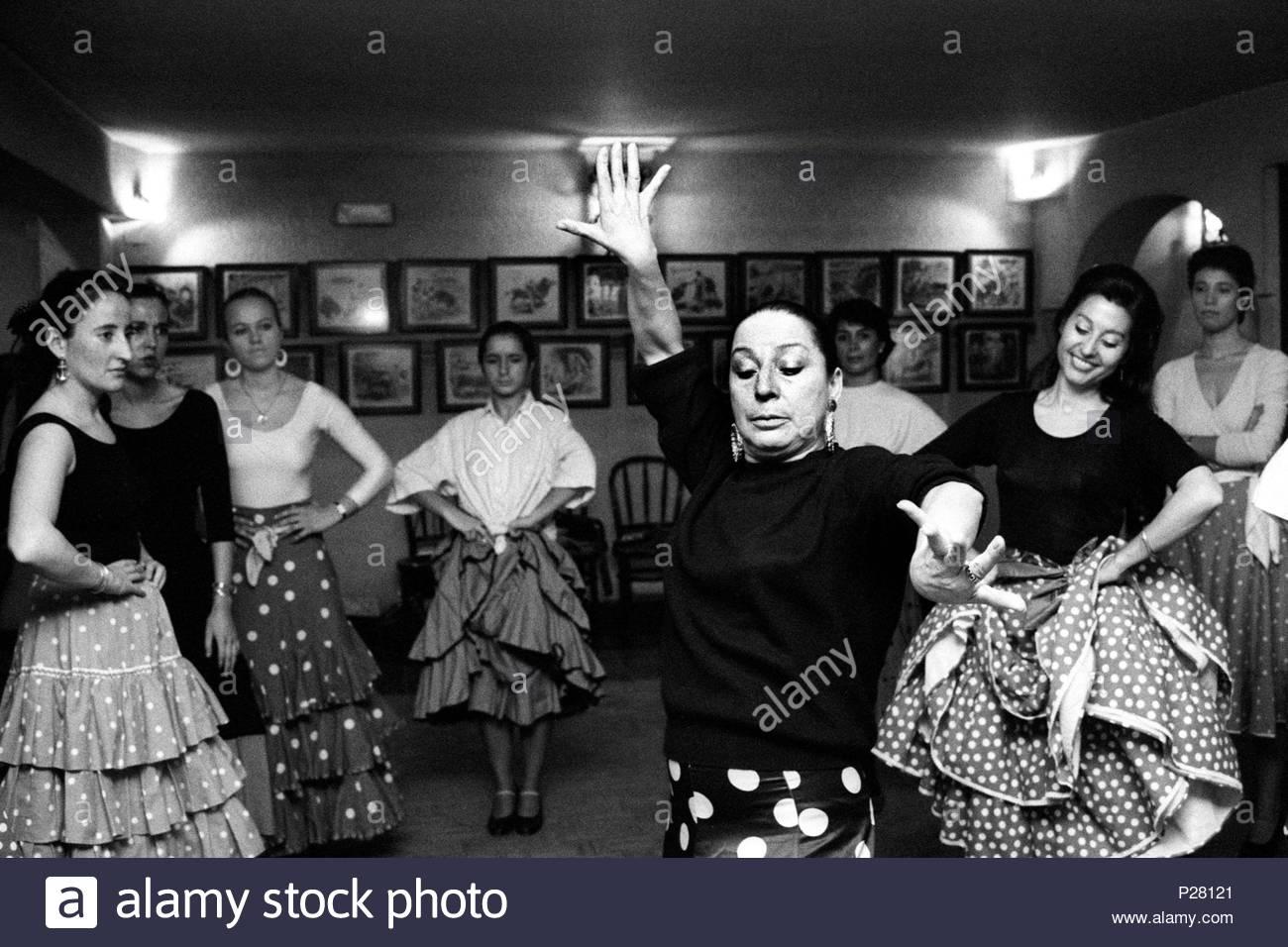 Lucia albaicin flamenco tänzerin