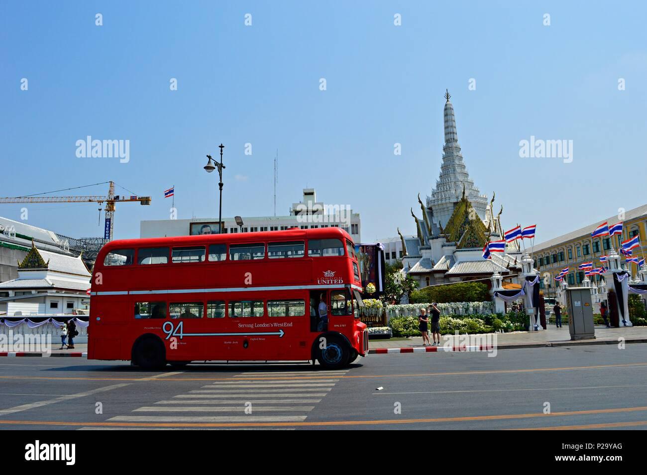 Bangkok Leben Stockbild