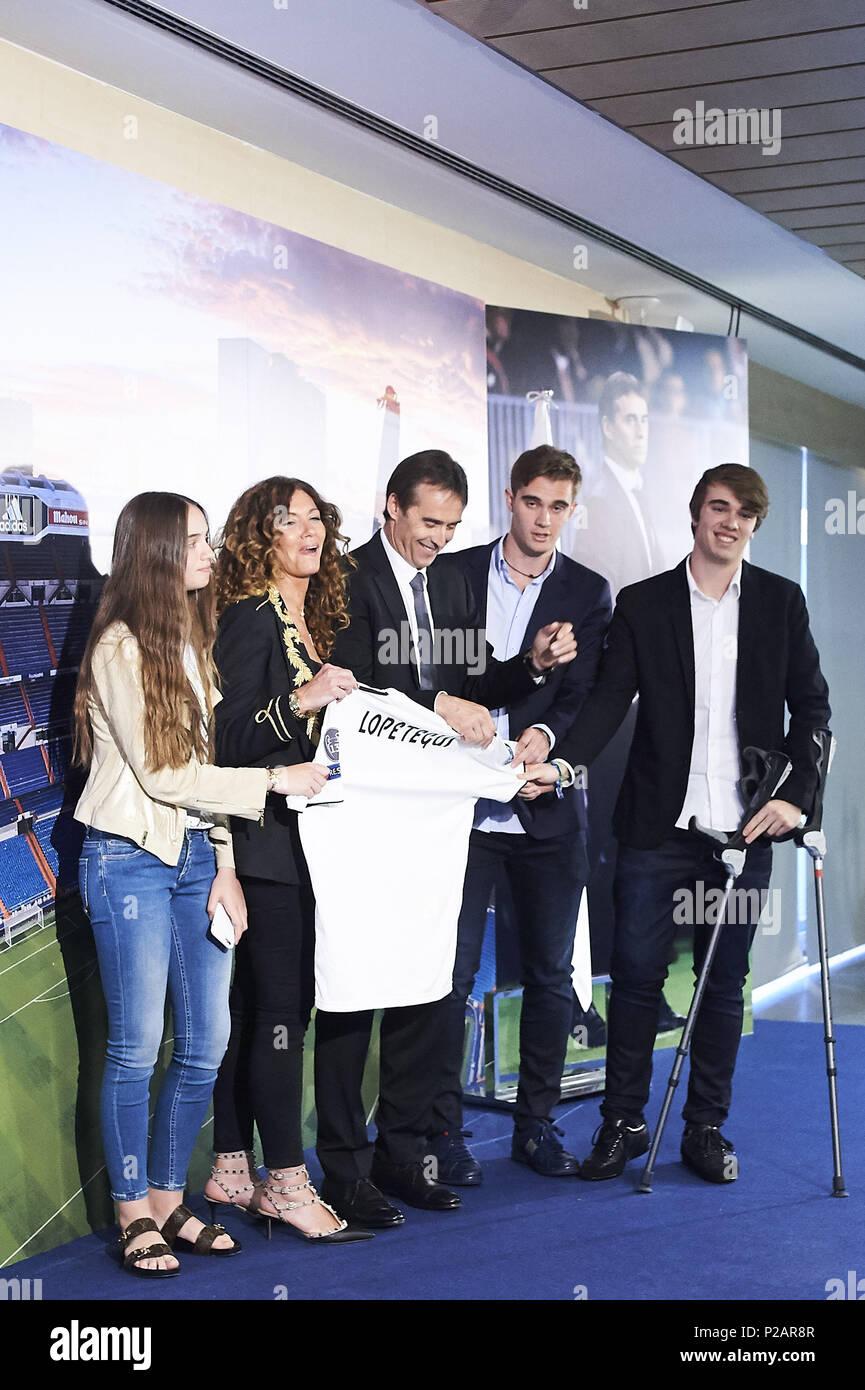 Madrid Madrid Spanien 14 Juni 2018 Julen Lopetegui Rosa