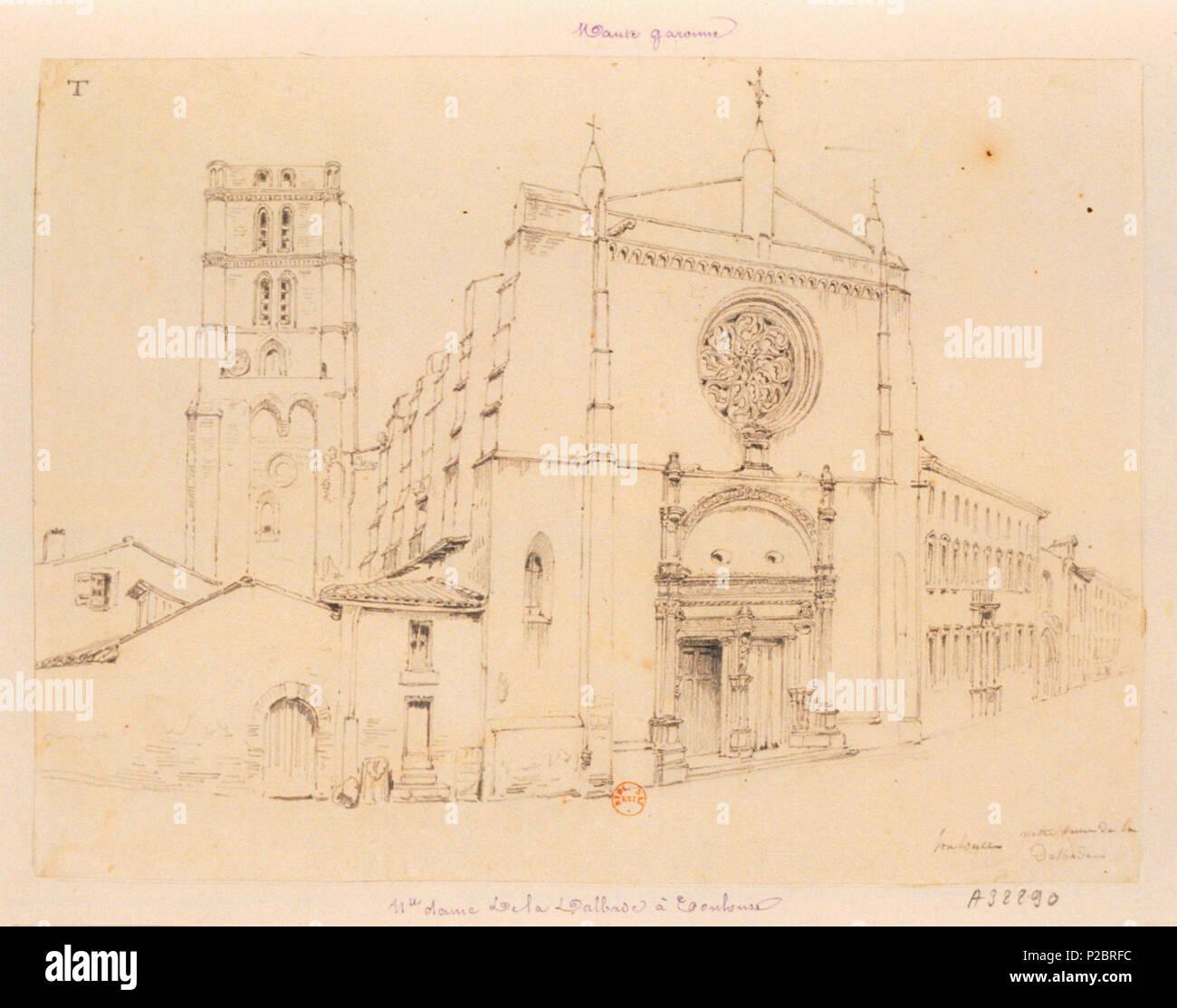 Français église Notre Dame De La Dalbade Toulouse 19 Unbekannt