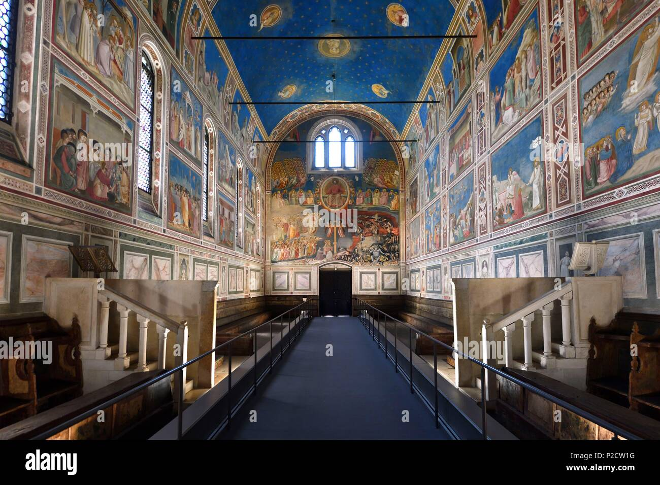 Italien Venetien Padua Padua Cappella Degli Scrovegni Kapelle