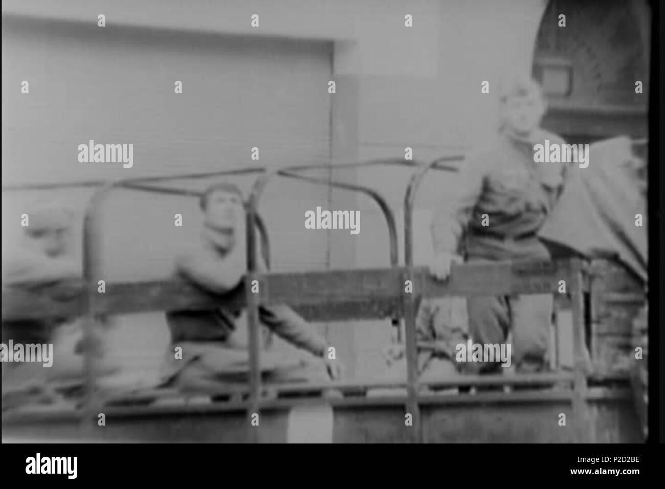 . ? E?tina: Sov?tské okupa? ní síly. 27. August 1968 National Archives (archive.org) 1 (srpen 68) Soveti na Korbe Stockbild