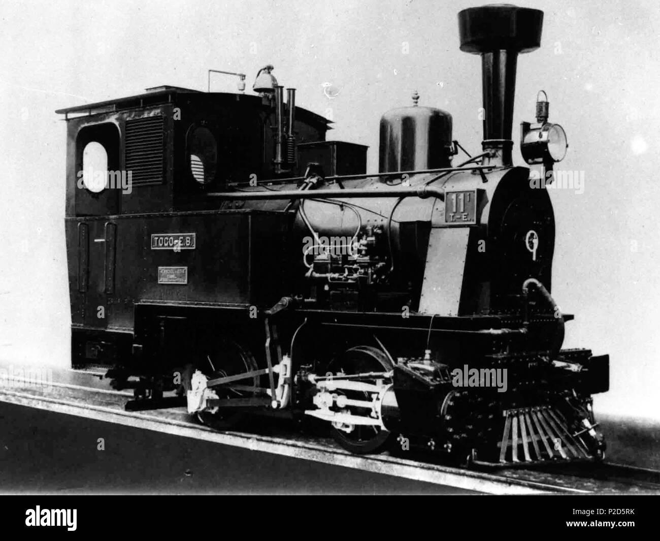 Englisch Deutsche Bahn Lokomotive In Togo Gebaut Von