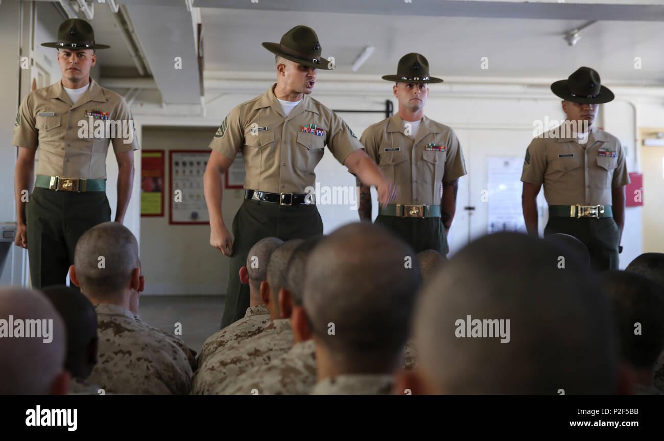 marine corps boot camp drill instruktoren