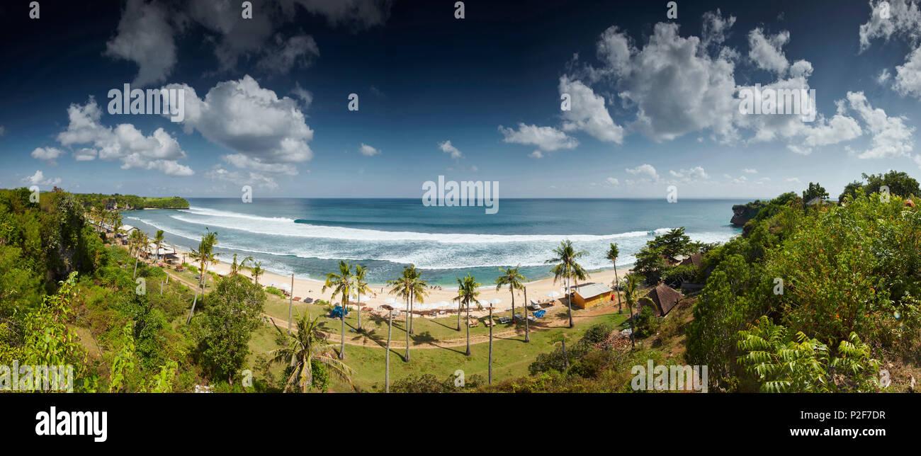 Balangan Beach, Bali, Indonesien, Asien, Indischer Ozean Stockbild