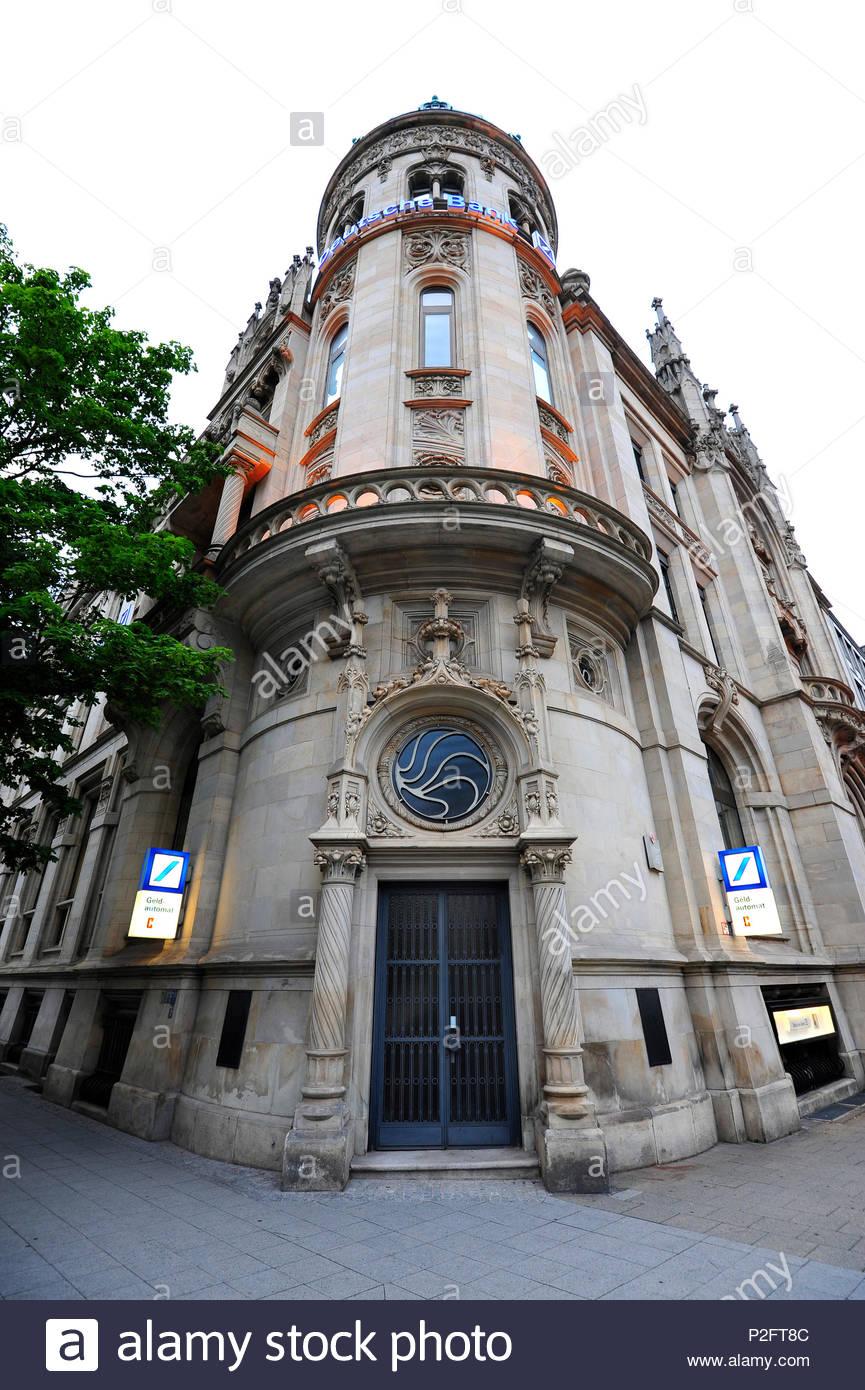 Jugendstil Filiale Der Deutschen Bank Georgsplatz Square Hannover