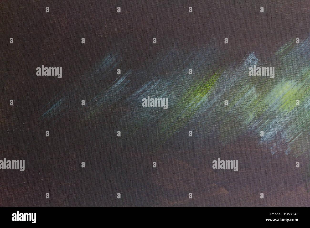 Abstrakte Farbe moderne Kunst Hintergrund mit Ölfarbe auf Leinwand ...